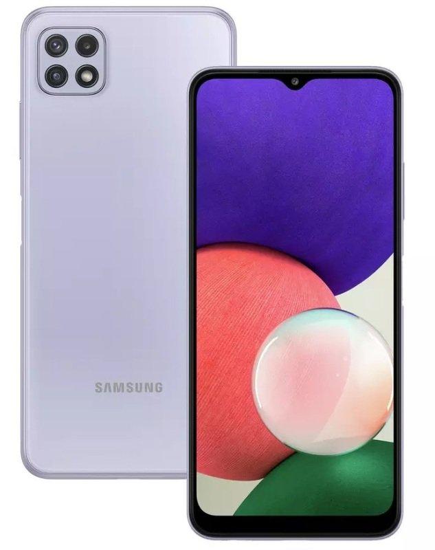 Samsung Galaxy A22 64GB 5G Smartphone - Violet