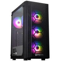 AlphaSync Onyx AMD Ryzen 3 8GB RAM 1TB HDD 500GB SSD Gaming Desktop PC
