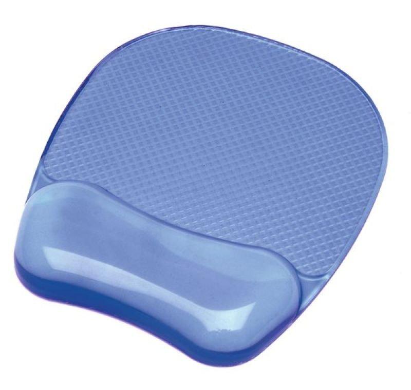 Fellowes Crystals Gel Mousepad - Blue