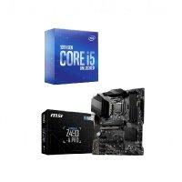 MSI Z490-A PRO ATX Motherboard + Intel Core i5 10600K Processor Bundle