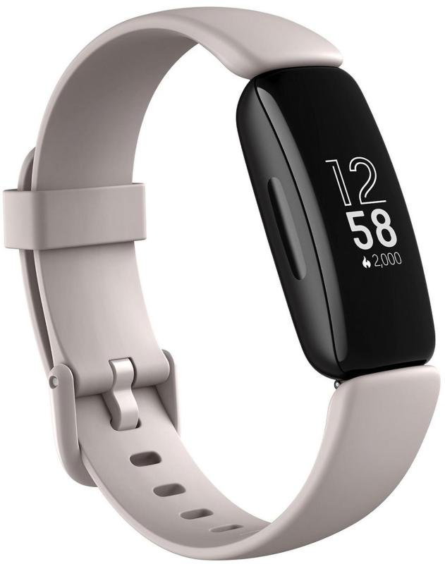 EXDISPLAY Fitbit Inspire 2 Activity Tracker - Lunar White