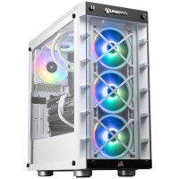 AlphaSync iCUE 465X RTX 3070 AMD Ryzen 5 32GB RAM 2TB HDD 1TB SSD Gaming Desktop PC