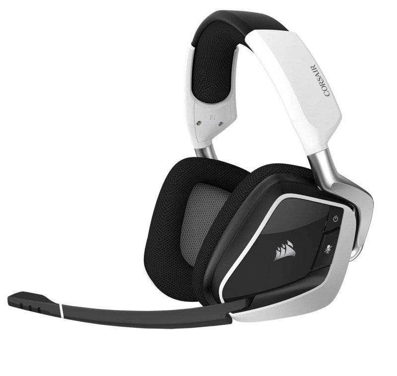 EXDISPLAY Refurbished by Corsair VOID ELITE RGB 7.1 Surround White Wireless Gaming Headset