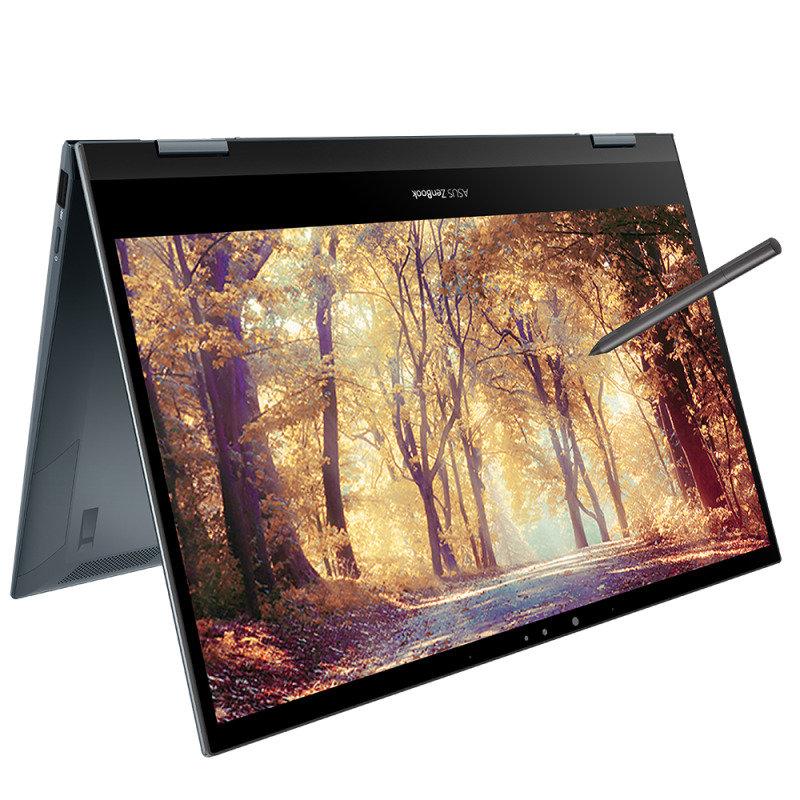 "ASUS ZenBook Flip 13 Core i5 8GB 512GB SSD 13.3"" FHD Win10 Home Touchscreen Convertible Laptop"