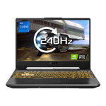 £1168.01, EX Display ASUS TUF Gaming F15 Core i7 16GB 1TB SSD RTX 3060 15.6inch Win10 Home Gaming Laptop, Intel Core i7 11800H 2.3GHz, 16GB RAM + 1TB SSD, 15.6inch FHD Display 240Hz, NVIDIA GeForce RTX 3060 6GB, Windows 10 Home,