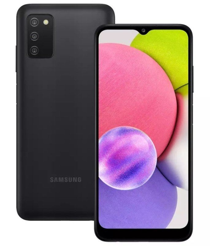 Samsung A03s 32GB 4G Smartphone - Black