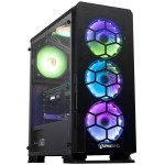 AlphaSync Diamond RTX 3070Ti AMD Ryzen 5 16GB RAM 4TB HDD 1TB SSD Gaming Desktop PC