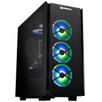 AlphaSync Obsidian RTX 3070Ti AMD Ryzen 7 32GB RAM 4TB HDD 1TB SSD Gaming Desktop PC