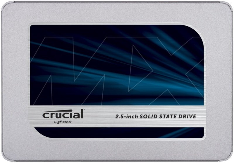 Crucial MX500 4TB 3D NAND SATA 2.5 inch 7mm (with 9.5mm adapter) Internal SSD