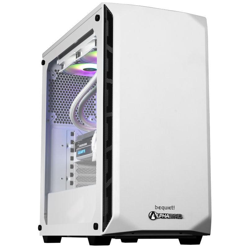 Image of AlphaSync Gaming Desktop PC AMD Ryzen 7 3700X 32GB RAM 2TB HDD 50GB SSD RTX 3070Ti Windows 11 Home