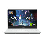 £2462.66, EXDISPLAY Asus RoG Zephryrus G15 Ryzen 9 32GB 1TB SSD RTX 3080 15.6 WQHD Win10 Home Gaming Laptop, AMD Ryzen 9 5900HS 3.1GHz, 32GB RAM + 1TB SSD, 15.6inch WQHD Display 165Hz, NVIDIA GeForce RTX 3080, Windows 10 Home,