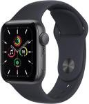 Apple Watch SE GPS + Cellular, 40mm Space Grey Aluminium Case with Midnight Sport Band - Regular