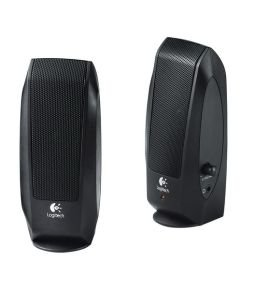 Logitech S120 Black 2.0 Speakers - 2.3W RMS