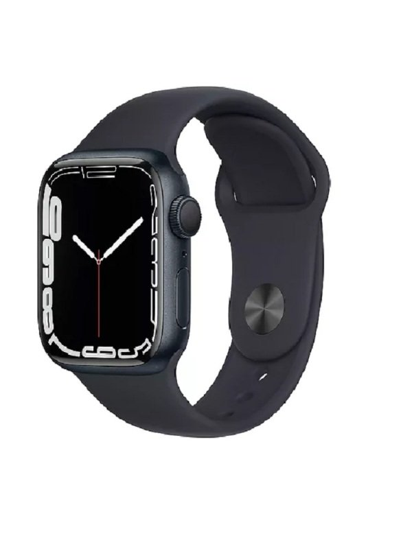 Apple Watch Series 7 GPS 41mm Midnight Aluminium Case with Midnight Sport Band