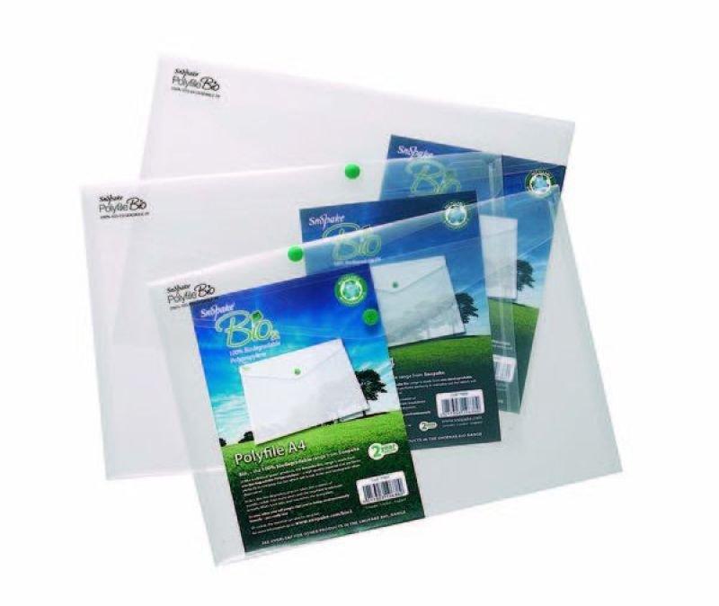 Snopake Bio2 A4 Polyfile - 5 Pack