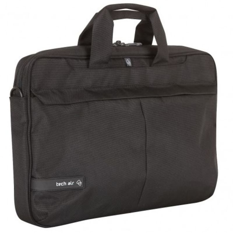 Image of Tech-Air Toploading Premium Modern Classic Laptop Case for Laptops up to 15.6 - black