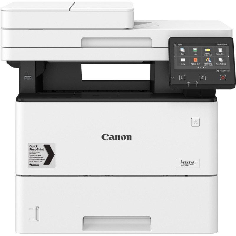 Canon i-SENSYS MF542x A4 Mono Multifunction Laser Printer