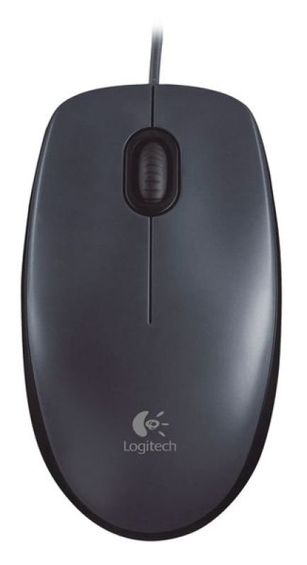 Image of Logitech M90 Wired Optical Mouse - USB