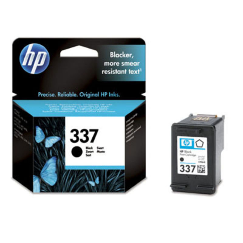HP 337 Pigmented Black Ink Cartridge  C9364EE