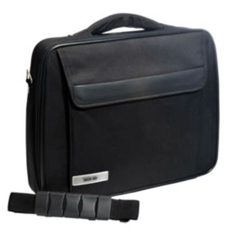 "Image of Tech Air Z0107V3 Entry Laptop Briefcase - For Laptops up to 17"" - Black, with I Trak"