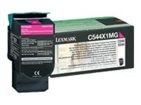 Lexmark 0C544X1MG MagentaToner Cartridge