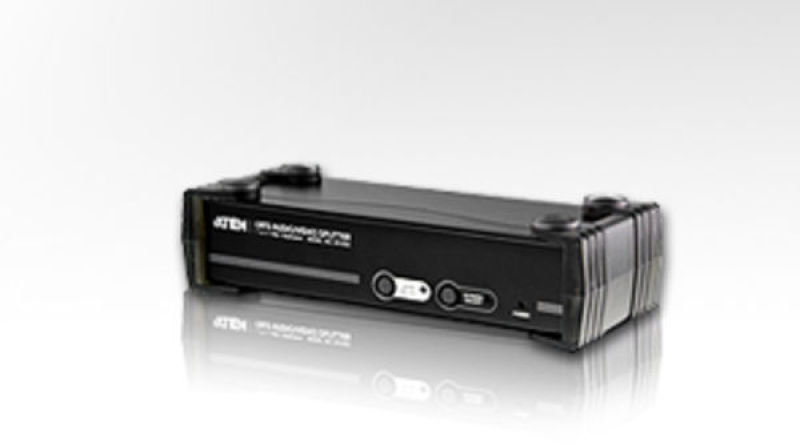 Aten 8-port Cat 5 Vga/audio  Audio/ Video Splitter