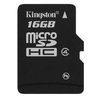 Kingston 16GB MicroSDHC Card