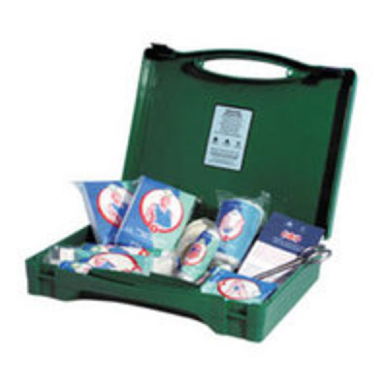 WALLACE VEHICLE GREEN BOX FIRSTAID KIT
