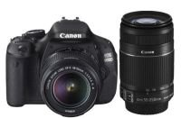 Canon EOS 600D Digital SLR Camera - Twin Lens Kit