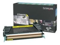 Lexmark C736H1YG Yellow Toner Cartridge