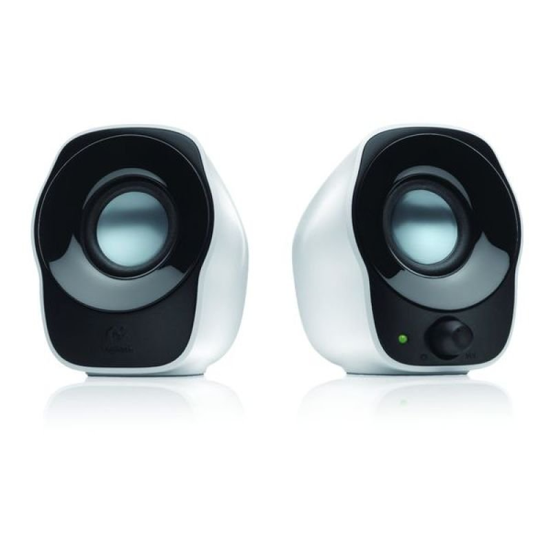 Logitech Z120 White USB Powered Speakers