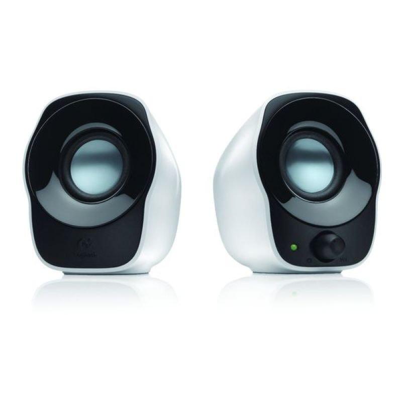 Logitech Z120 White USB Powered Speakers
