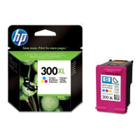 HP 300XL Tri-Colour Original Ink Cartridge - High Yield 440 Pages - CC644EEEE