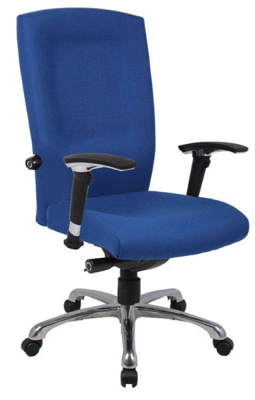 Image of HH Solutions Ergonomics4Work Wave High Back Chair - Blue