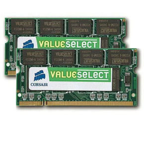 Corsair 8GB DDR3 1066MHz Laptop Memory