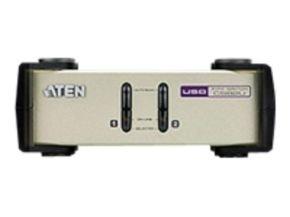 Aten 2 port Desk-top PS/2 & USB KVM Switch (2 KVM Cables included)