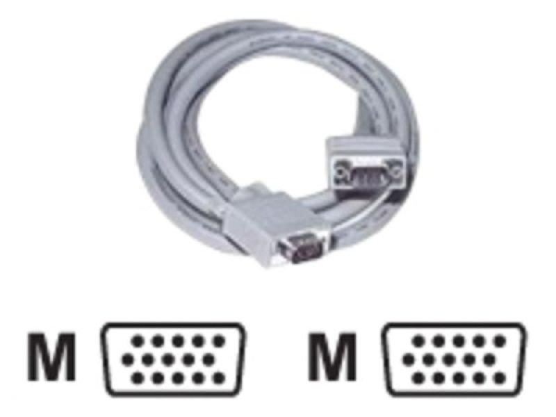 C2G, Premium Shielded HD15 M/M SXGA Monitor Cable, 5m