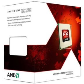 AMD FX-6 6100 Black Edition 6 Core 3.3Ghz Socket AM3+ 8MB L3 Cache Retail Boxed Processor