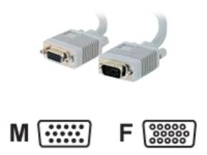 C2G, Premium Shielded HD15 M/F SXGA Monitor Extension Cable, 5m