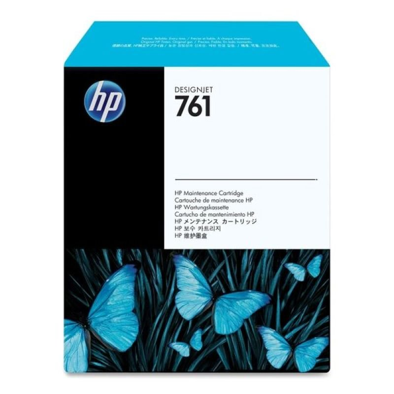 HP 761 Original Maintenance Cartridge	For use with - DesignJet T7100 & T720 - CH649A
