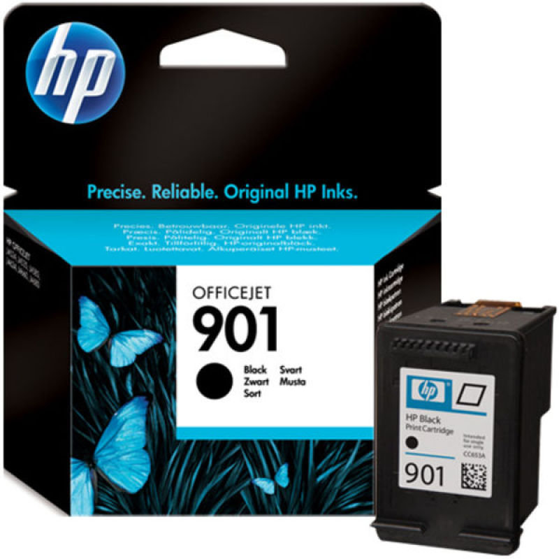 HP 901 Black Ink Cartridge - CC653AE