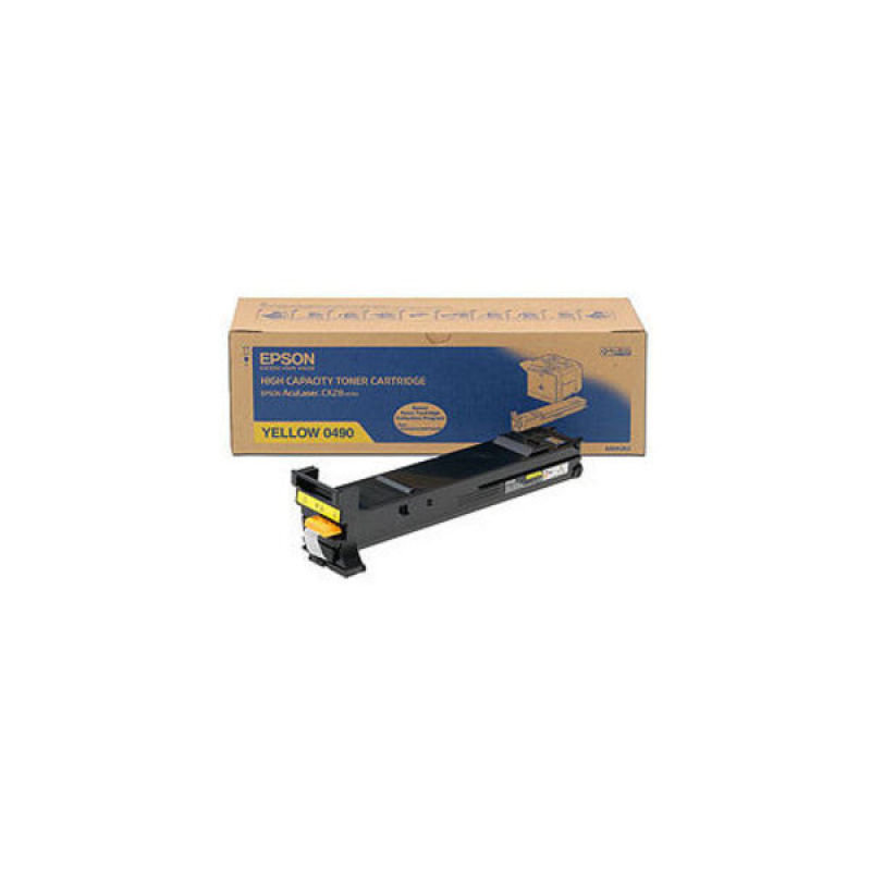 Epson AcuLaser CX28DN Yellow Toner (Capacity: 8000 pages) C13S050490
