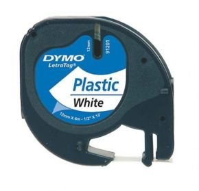 DYMO LetraTAG Plastic tape- 1 roll(s)