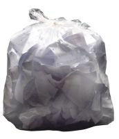 2Work White Swing Bin Liners 45 Litres (Pack of 1000)