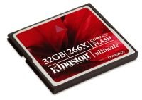 Kingston 32GB Ultimate 266x Compact Flash Card