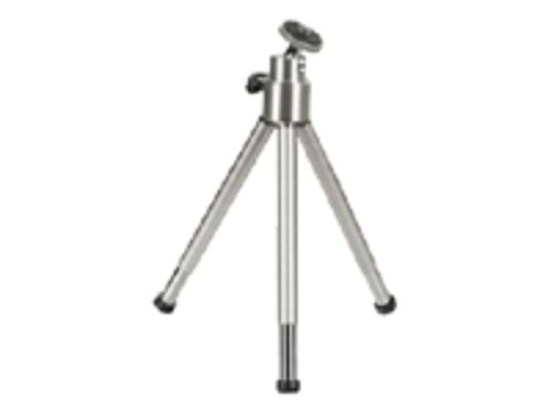 Mini Tripod With Ball Tilt Head - Silver