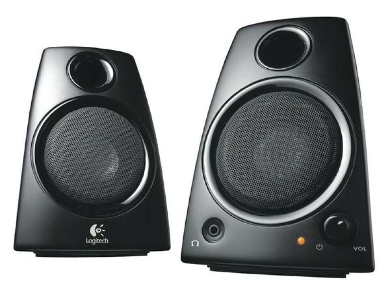 Logitech Z130 Multimedia 2.0 Speakers - 5W RMS