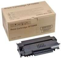 Ricoh SP1000E Black Fax Toner Cartridge