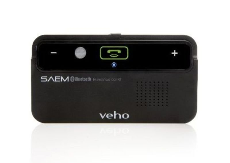 Veho VBC001BLK SAEM Speakerphone Wireless Bluetooth Handsfree Car Kit2.1 EDR