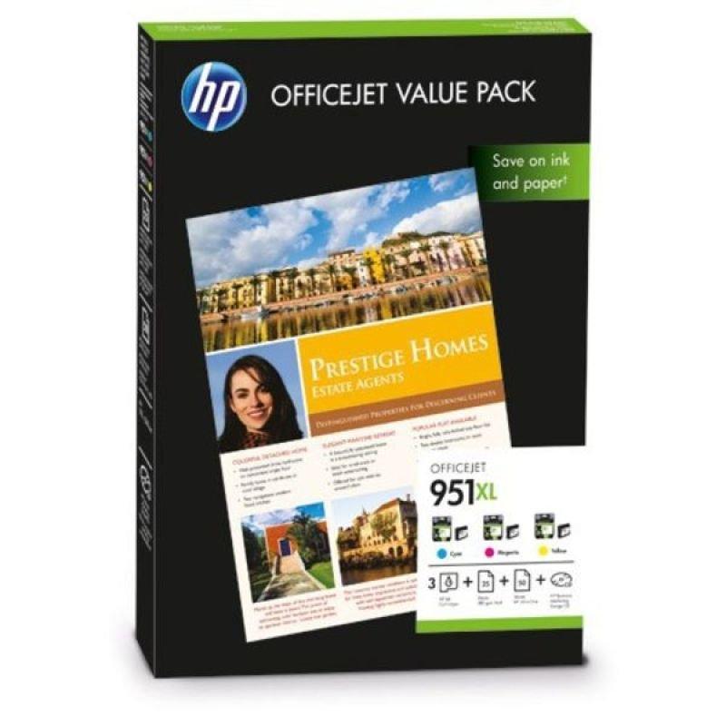 HP 951XL Officejet Value Pack Ink cartridge  paper kit  CR712AE